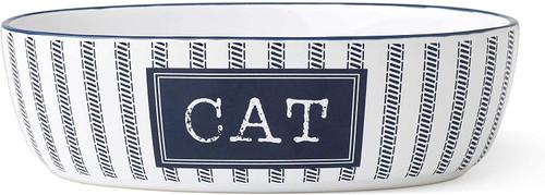 Petrageous Country Blue Cat Bowl