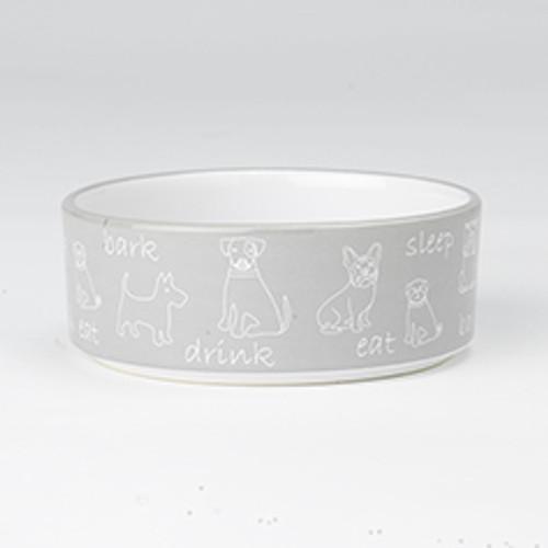 Petrageous Playful Pet Eat, Drink, and Bark, 2 cup