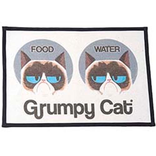 Petrageous Grumpy Cat Food Water Non-Slip Placemat