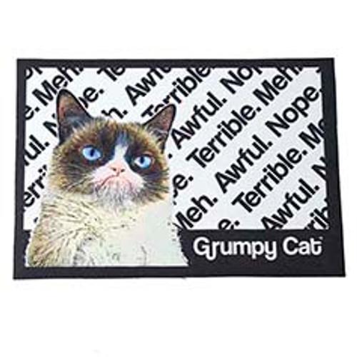 Petrageous Grumpy Cat Non-Slip Placemat, Picture