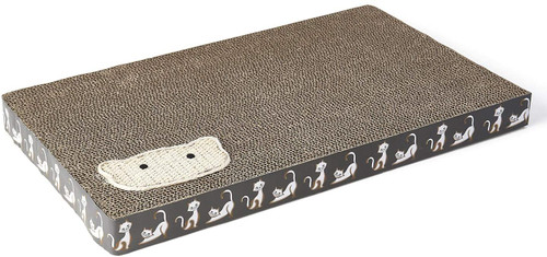 Petrageous Silly Kitty Corrugated Scratcher
