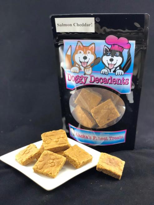 Doggy Decadents Salmon Cheddar Bites, 6oz