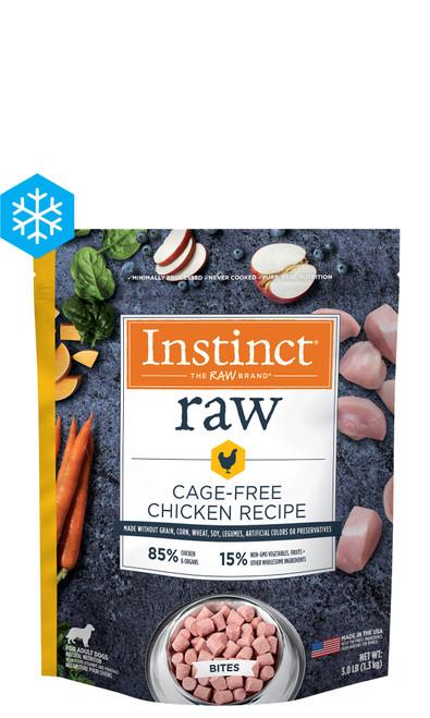 Nature's Variety Instinct Raw Bites Cage Free Chicken, 3lb