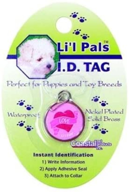 Li'l Pals ID Tag, Heart