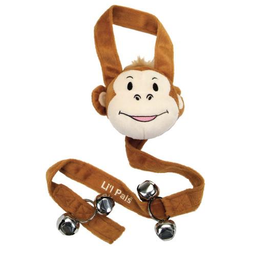 Li'l Pals Potty Training Bell, Monkey