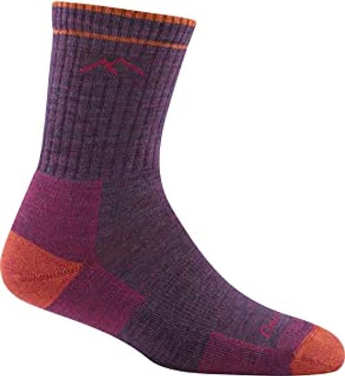 Darn Tough Style 1903 Women's Hiker Crew Sock, Plum