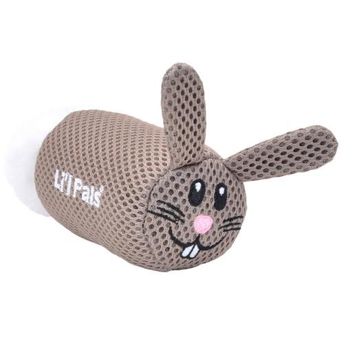Li'l Pals Bunny Mesh Dog Toy
