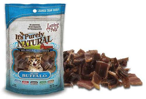 Loving Pet Pure Natural Cat Buffalo Meat, 2oz