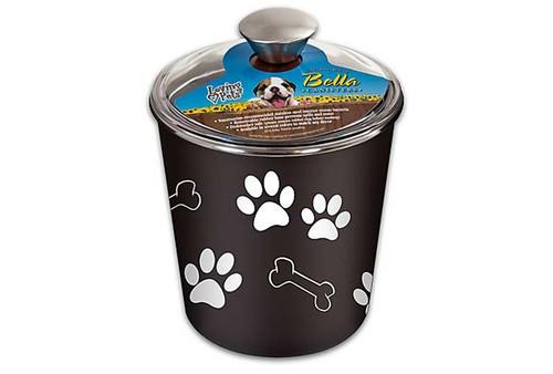 Loving Pet Bella Bowl Canister Espresso