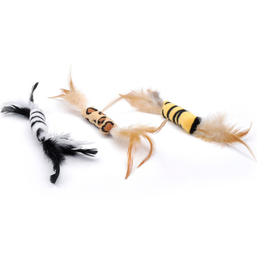 Turbo Feather Cat Toys