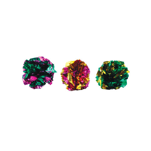 Turbo Krinkle Ball Cat Toy