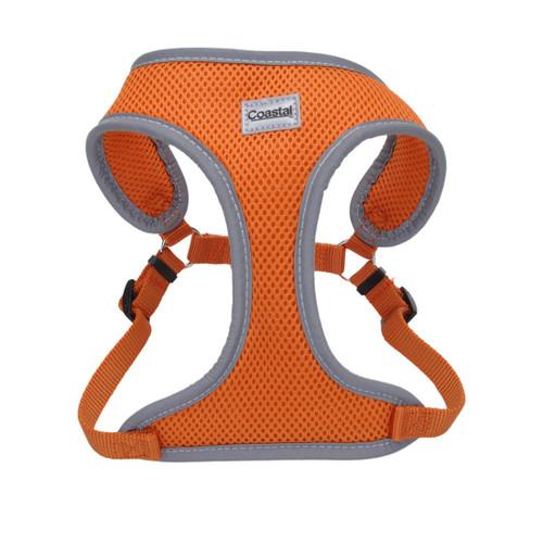 Comfort Soft Reflective Wrap Adjustable Dog Harness, Sunset Orange