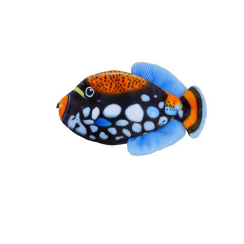 Turbo Life-like Black Fish Cat Toy