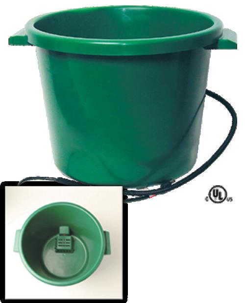 16 Gallon Heated Plastic Tub