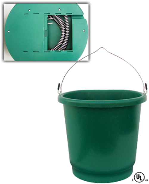 Heated Flat Bucket