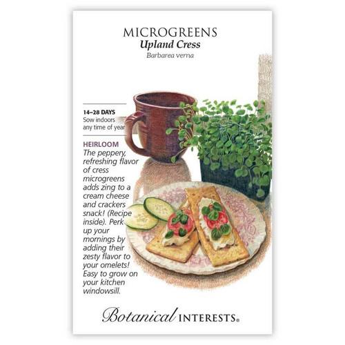 Botanical Interest Upland Cress Microgreens Seeds