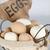 Happy Hen Ceramic Nest Eggs, Brown, 2PK