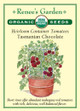 Renee's Garden 'Tasmanian Chocolate' Heirloom Container Tomatoes Seed