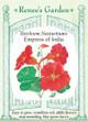 Renee's Garden 'Empress of India' Heirloom Nasturtium Seed