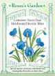 Renee's Garden 'Electric Blue' Container Sweet Pea Seed