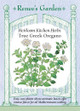 Renee's Garden 'True Greek Oregano' Heirloom Kitchen Herb Seed