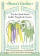 Renee's Garden 'Gold, Purple & Green' Tricolor Bush Beans Seed