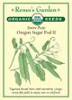 Renee's Garden 'Oregon Sugar Pod II' Snow Peas Organic Seed