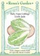 Renee's Garden 'Little Jade' Baby Napa Cabbage Seed