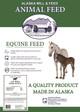 Old Timer Horse Ration, 50lb