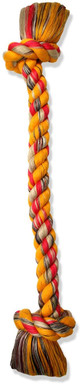 Mammoth Flossy Chew 2 Knot Rope Tug, 48 inch