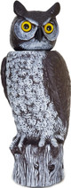 Dalen Natural Enemy Scarecrow Rotating Head Owl, Brown
