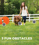Outward Hound ZipZoom Beginner Dog Agility Training Obstacle