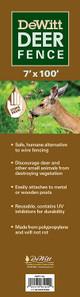 Dewitt Deer Fence Netting, 100-Feet Length