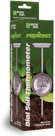 Luster Leaf Rapitest Dial Soil Thermometer, Stainless Steel