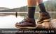 Darn Tough Style 1403 Men's Boot Cushion Sock, Charcoal