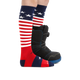 Darn Tough Style 1846 Kid's Over The Calf, Stars and Stripes