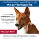 "Adjustable Comfort Muzzle for Dogs, Medium 12-18"""