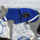 Howling Dog Thermo Coat, Blue