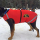 Howling Dog Thermo Coat, Red