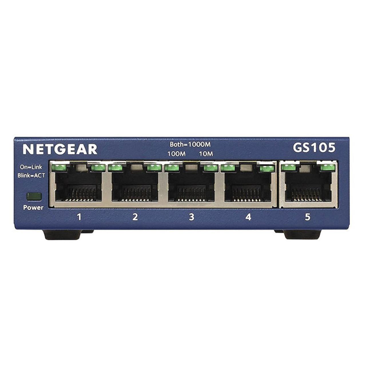 Netgear ProSAFE 5-Port Gigabit Ethernet Switch (GS105)