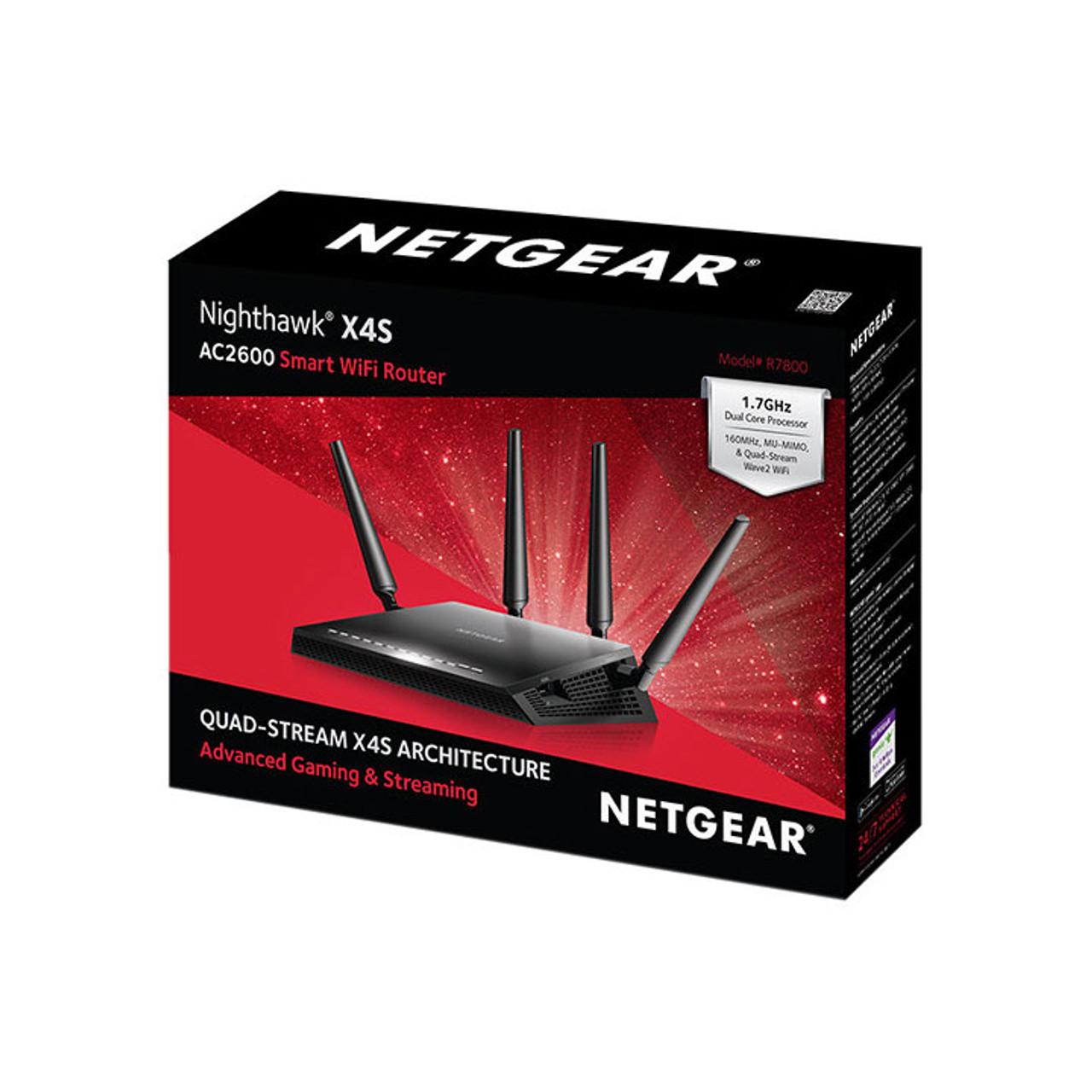 Netgear Nighthawk X4S R7800 DD-WRT Router