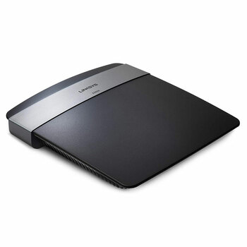 Linksys E2500 VPN Router Left