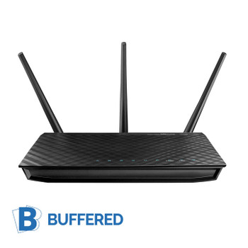 Buffered VPN Asus RT-N66R