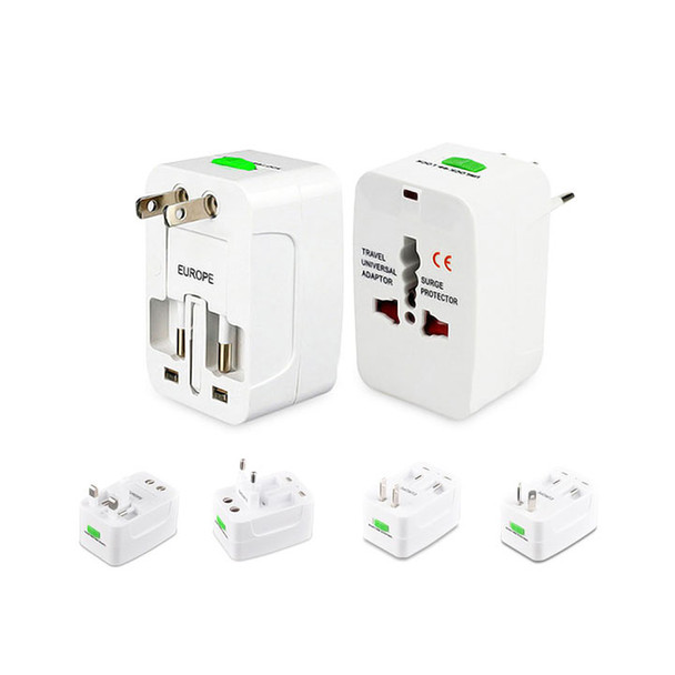 Plug adapter showing all adapter options