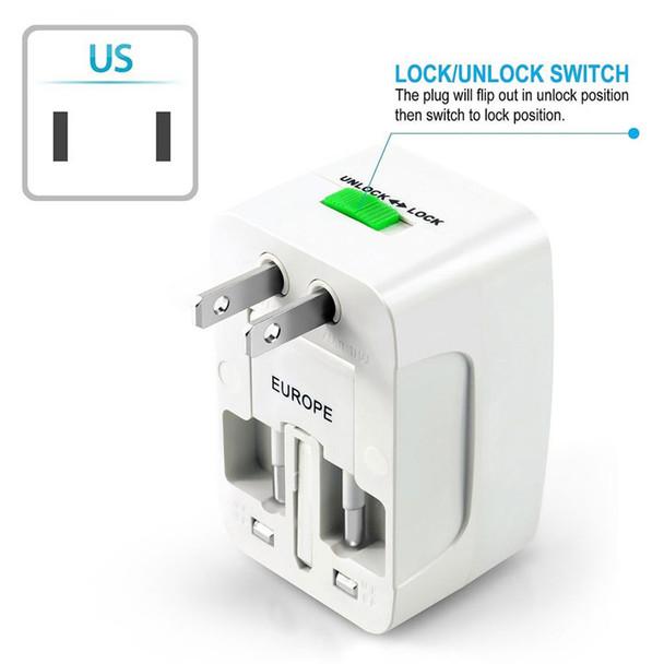 International Plug Adapter, US plug