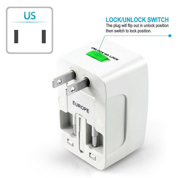 International Plug Adapter, US plug