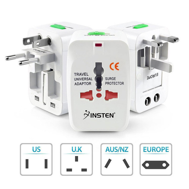 World Wide Travel Charger Adapter Front and Back