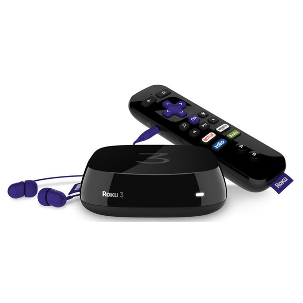 Roku 3 and Roku Remote