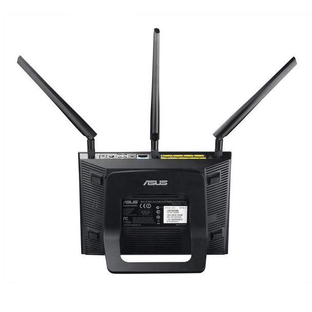 Asus RT-N66R VPN Router on Stand Back