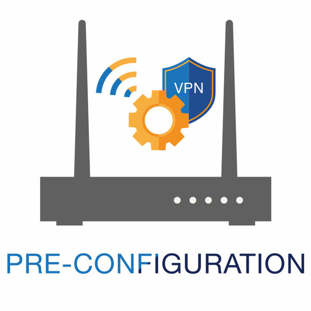 VPN Router Pre-Configuration
